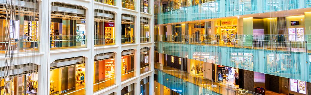 百貨店・ショッピングモール・ホテルなどの内装工事